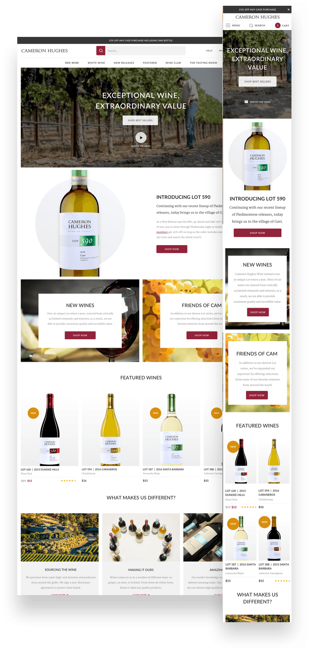 Cameron Hughes Wine - The Solution Image