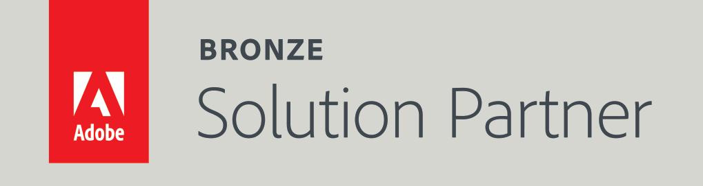 Adobe: Bronze Solution Partner